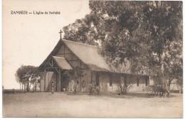ZAMBIE - ZAMBEZE - L'Eglise De Seshéké - Zambie