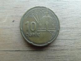 Azerbaidjan  10 Qapik 2006  Km 42 - Azerbaïjan