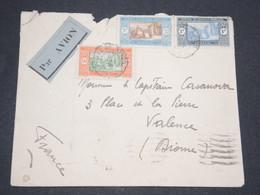 SÉNÉGAL - Enveloppe Par Avion De Dakar Pour La France En 1935 - L 13457 - Sénégal (1887-1944)