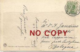 Zanotti Pirro, Medico, Studioso Della Fontanella Metopica. Autografo Su Cartolina Ravenna 24.12.1925, Interno S. Vitale. - Autographs