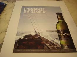 PUBLICITE AFFICHE WHISKY GLENFIDDICH - Alcohols