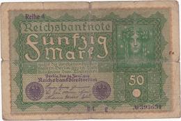 Allemagne - Billet De 50 Mark - 24 Juin 1919 - [ 3] 1918-1933: Weimarrepubliek