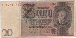 Allemagne - Billet De 20 Mark - 22 Janvier 1929 - Werner Von Siemens - 20 Mark