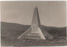 Photo Originale Ruthmann Rabat Mémorial Kechachda Bourguignon Edouard Militaria  Maroc Goum - Guerra, Militari