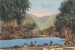 TAHITI  FAATAUTIA RIVER - French Polynesia