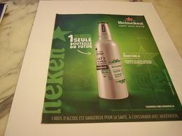 PUBLICITE AFFICHE BIERE HEINEKEN - Alcohols