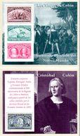 1992. Espagne, 2 Blocs **Le Voyage De Christophe Colomb. Los Viajes De Colon. - Blocs & Hojas