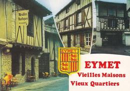 24 EYMET / MULTIVUES DE VIEILLES MAISONS / BLASON - Frankreich