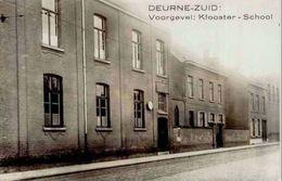 DEURNE-ZUID - Voorgevel : Klooster - School - Photo-carte - Antwerpen
