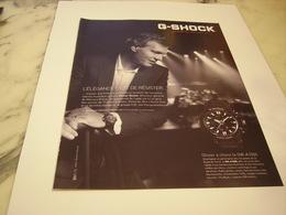 PUBLICITE AFFICHE MONTRE G-SHOCK - Jewels & Clocks