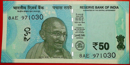 INDIA BANKNOTE, FIFTY RUPEES, 2017, UNC, SERIAL NUMBER MAY VARY - India
