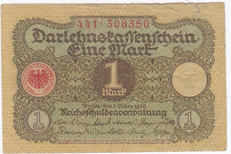 Allemagne - Billet De 1 Mark - 1er Mars 1920 - [ 3] 1918-1933 : Weimar Republic