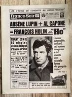 Synopsis Film Ho ! Jean Paul Belmondo Robert Enrico Jose Giovanni France Soir - Programs