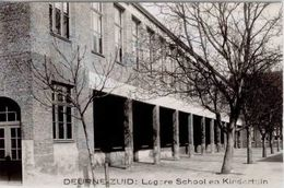 DEURNE-ZUID - Lagere School En Kindertuin - Photo-carte - Antwerpen