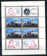 ROMANIA 1971 2969 (BL.88) COSMOS Apollo 15 - Space