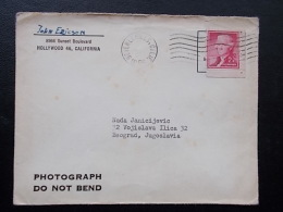 2465 - HOLLYWOOD TO YUGOSLAVIA - Stati Uniti