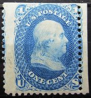ETATS-UNIS              N° 18               NEUF SANS GOMME - Unused Stamps