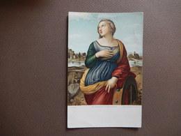 SAINT CATHERINE OF ALEXANDRIA - AFTER RAFFAELLO SANZIO - LONDON - R12433 - Peintures & Tableaux