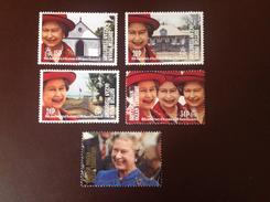 British Indian Ocean Territory BIOT 1992 Queen Accession Set MNH - British Indian Ocean Territory (BIOT)
