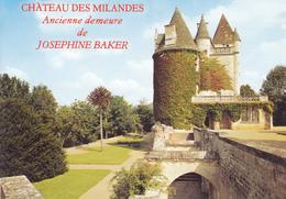 24 LES MILANDES / VUE UNIQUE / ANCIENNE DEMEURE DE JOSEPHINE BAKER - Francia
