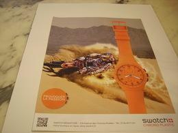 PUBLICITE AFFICHE MONTRE SWATCH - Bijoux & Horlogerie