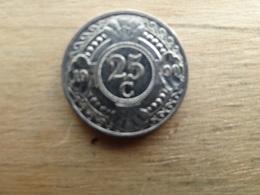 Antilles  Neerlandaises    25  Cents  1990  Km 35 - Antilles Neérlandaises