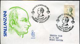 30955  Italia,fdc 1979  Lazzaro Spallanzani Medical Doctor Jesuit, Biologist  Biologiste - Medicine