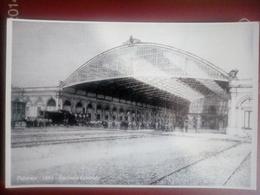 Palermo 1886-stazione Centrale-(riproduzione) - Palermo