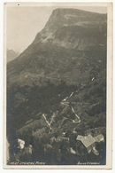 Real Photo 4527 Utsigten Merok  Atelier K.K. Bergen  Used 1930 To Cayeux France - Norway