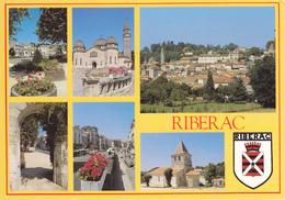 24 RIBERAC / MULTIVUES AVEC BLASON - Riberac