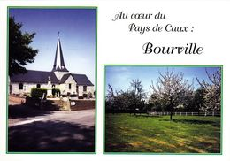 CPA - CPSM - 76 - BOURVILLE - GF.740 - France