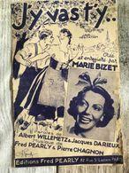 Partition Musicale J'y Vas T'y Marie Bizet Java - Scores & Partitions