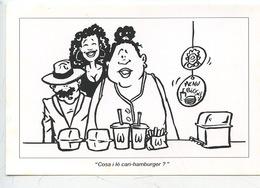 Humour Ile De La Réunion : Cosa I Lé Cari-hamburger ? Cart' La Blague Kozman Ile Bourbon (cp Vierge) - La Réunion
