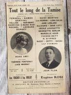 Partition Musicale Tout Le Long De La Tamise Rose Amy Jean Flor - Scores & Partitions