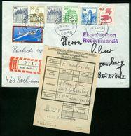 BR BRD   1980 Reco Brief Mit Einlieferungsschein Von Bochum Nach BRD, Spangenberg (Nachgesandt Nach Bochum) - [7] Repubblica Federale