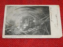 COURRIERES  - Catastrophe De Courrières : Cage Pour Remonter Les Victimes - Henin-Beaumont