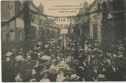Henrichemont Concours Musique 4/9/1910 Lyre Argentaise Argent Sur Sauldre Fanfare Dun Sur Auron - Henrichemont