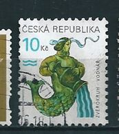 N° 193 Signe Du Zodiaque : Verseau Timbre République Tchèque (1998) Oblitéré - Tschechische Republik