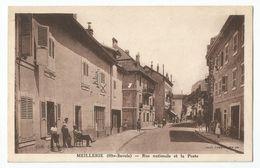 74 Haute Savoie - Meillerie Rue Nationale Et La Poste 1942 - France