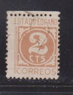 SPAIN Scott # 663a Used - 1889-1931 Kingdom: Alphonse XIII