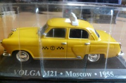 TAXI VOLGA M21 MOSCOW 1955 COLLECTION TAXIS DU MONDE ALTAYA  VOITURE MINIATURE ECH. 1/43 - Cars & 4-wheels