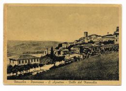 VERUCCHIO - PANORAMA - S.AGOSTINO - VALLE DEL MARECCHIA   VIAGGIATA FG - Rimini