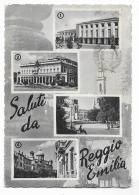 SALUTI DA REGGIO EMILIA -  VIAGGIATA FG - Reggio Emilia