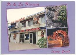 Ile De La Réunion : Saint Paul Ciné Splendid (Cinéma Grotte Français Moulin à Eau Grande Fontaine) Cp Vierge - Saint Paul