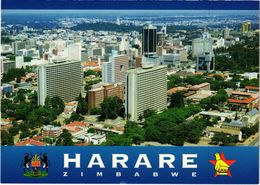 ZIMBABWE - HARARE - Vue Aérienne - Très Rare - Carte Postée - Zimbabwe