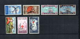 Africa Del Sur   1962-63.-     Y&T  Nº      261-262-263/264-274-275/276 - África Del Sur (1961-...)