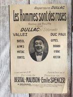 Partition Musicale Les Hommes Sont Des Roses Dullac - Scores & Partitions