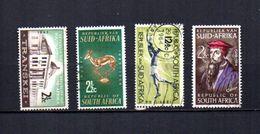 Africa Del Sur   1963-64.-     Y&T  Nº      277-278/279-280 - África Del Sur (1961-...)