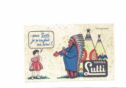 Buvard  TOFFEES LUTTI - Buvards, Protège-cahiers Illustrés