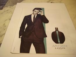 PUBLICITE AFFICHE PARFUM AVANT GARDE DE LANVIN - Perfume & Beauty